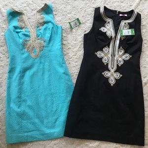 NWT Lot of 2 Lilly Pulitzer Shift Dresses 0